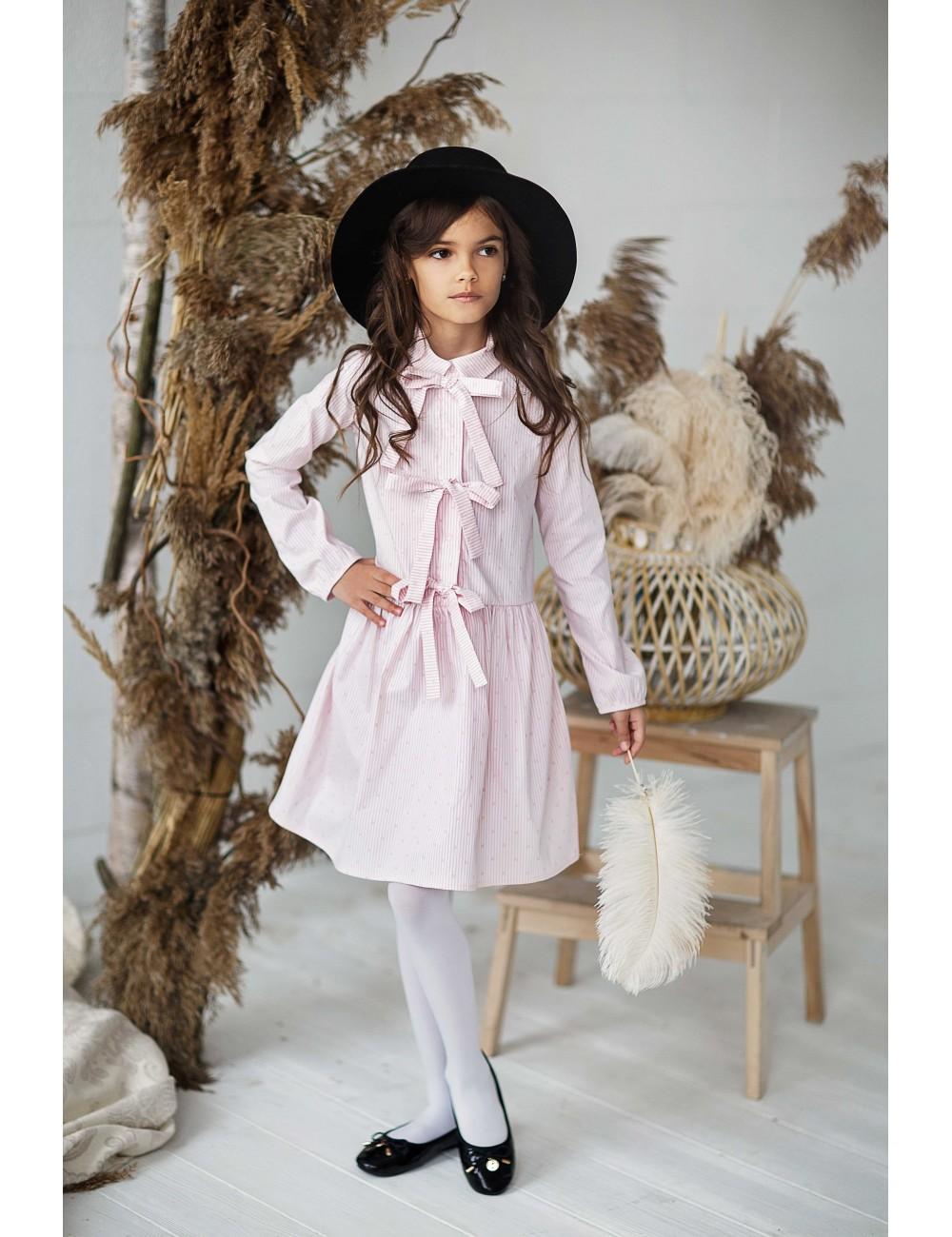 """MINIMI suknelė """"Pink bows"""""""