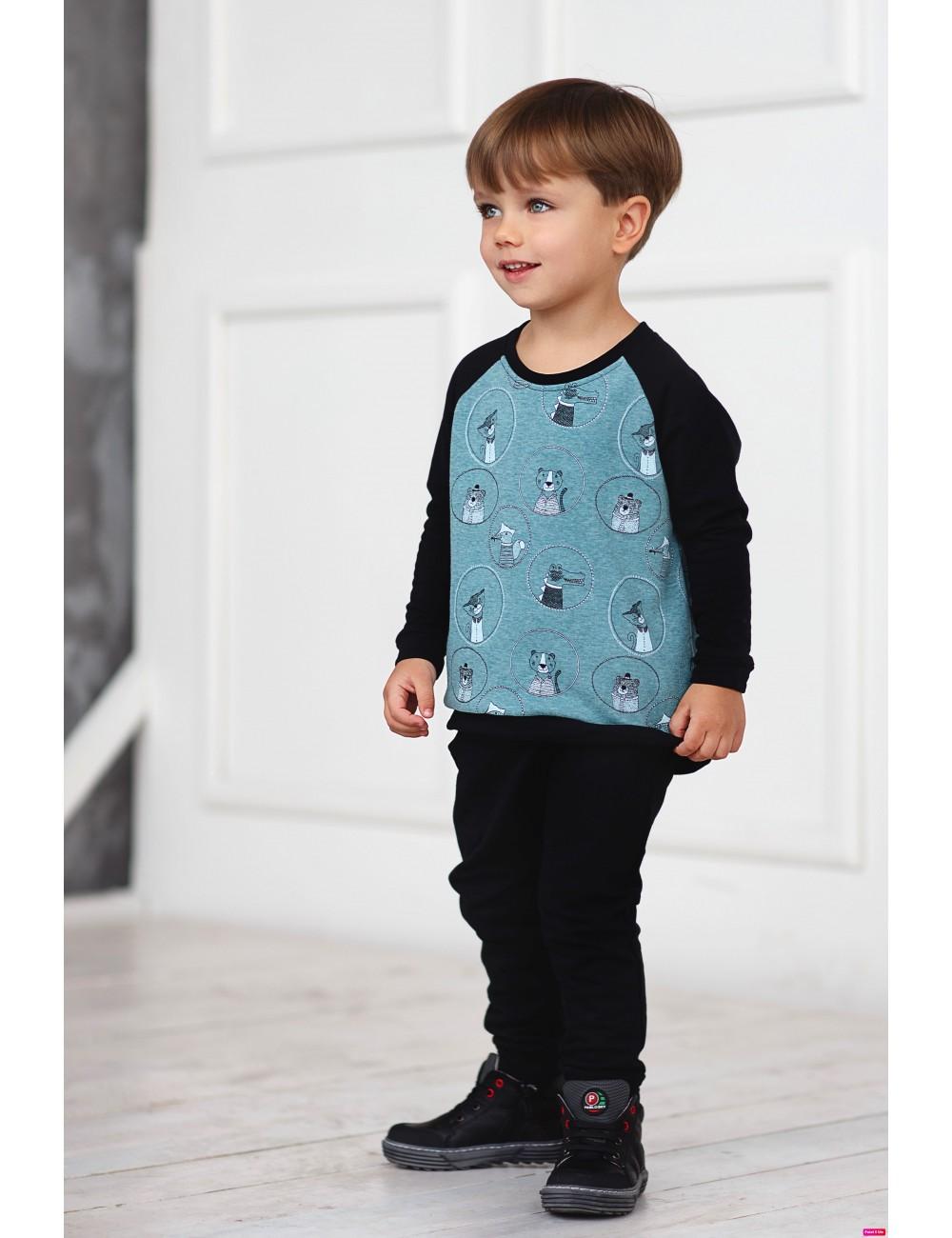 """MINIMI džemperis su kailiuku """"Circus"""""""
