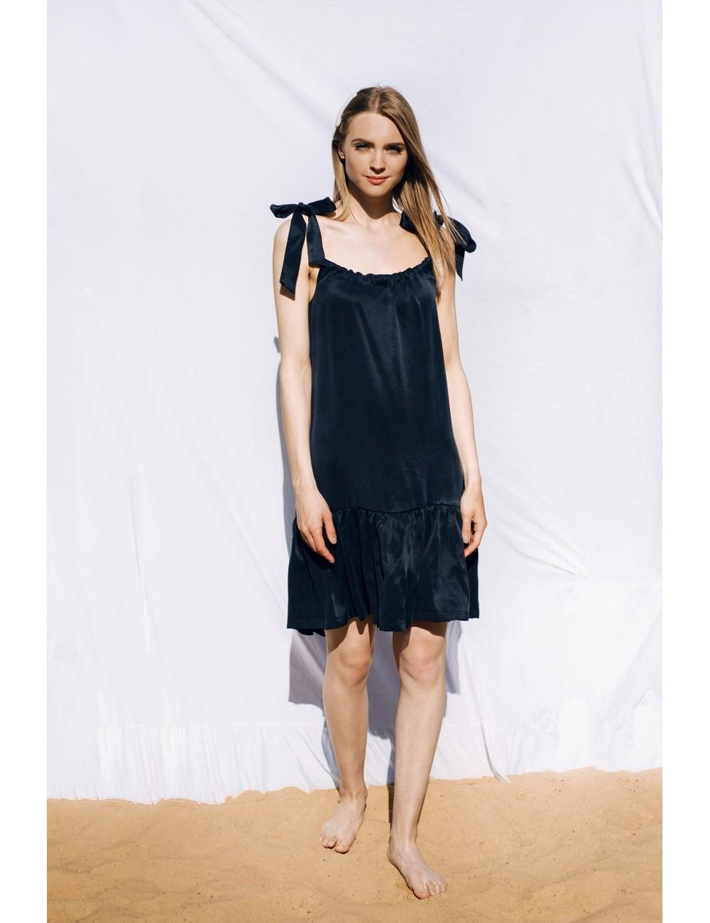 "MINIMI tamsiai mėlyna suknelė ""Summer moon"""