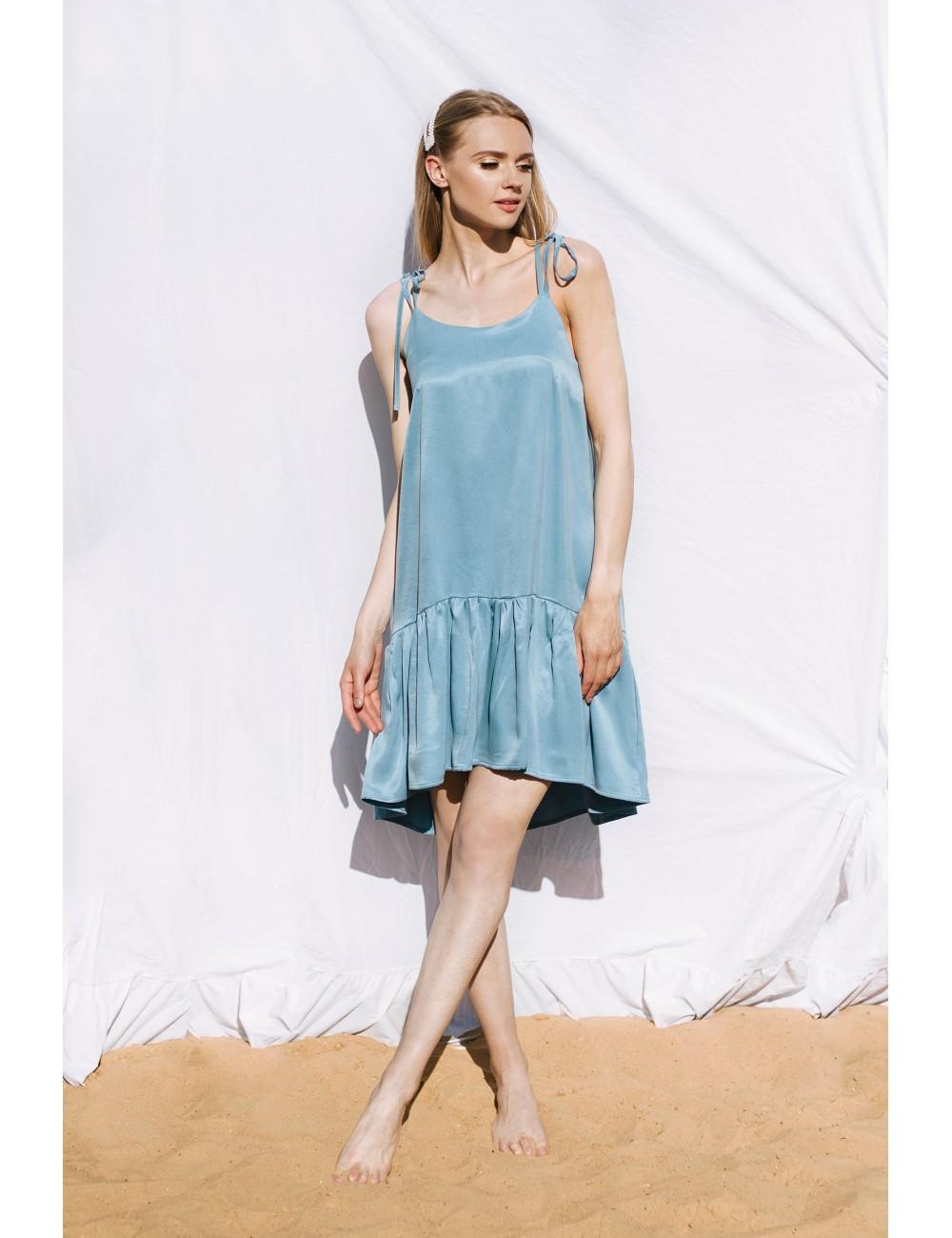 "MINIMI žydros spalvos suknelė ""Sherbet"""