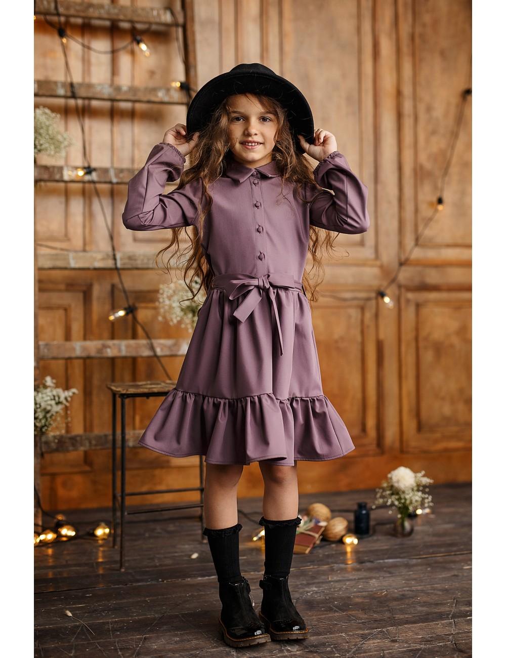 """MINIMI alyvinės spalvos suknelė """" Little lady"""""""