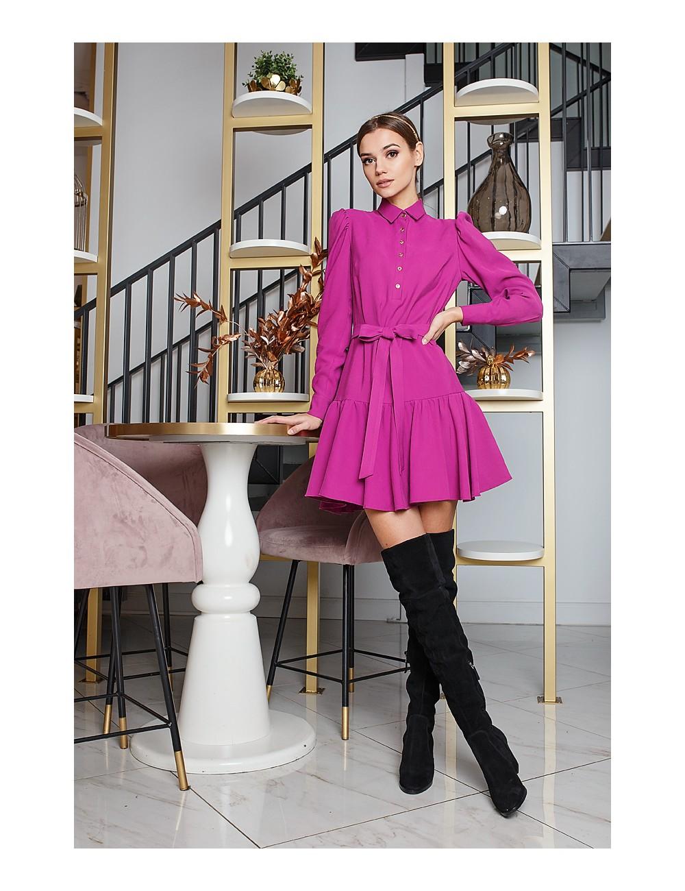 "MINIMI ciklameno spalvos suknelė ""Impressive"""