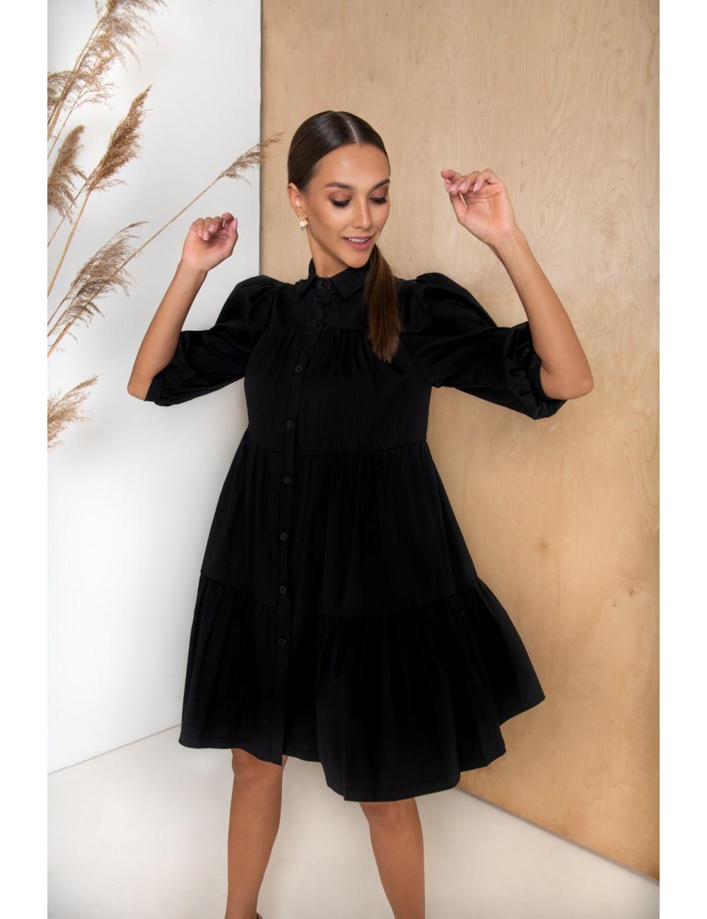 """MINIMI juoda suknelė """"Berry"""""""