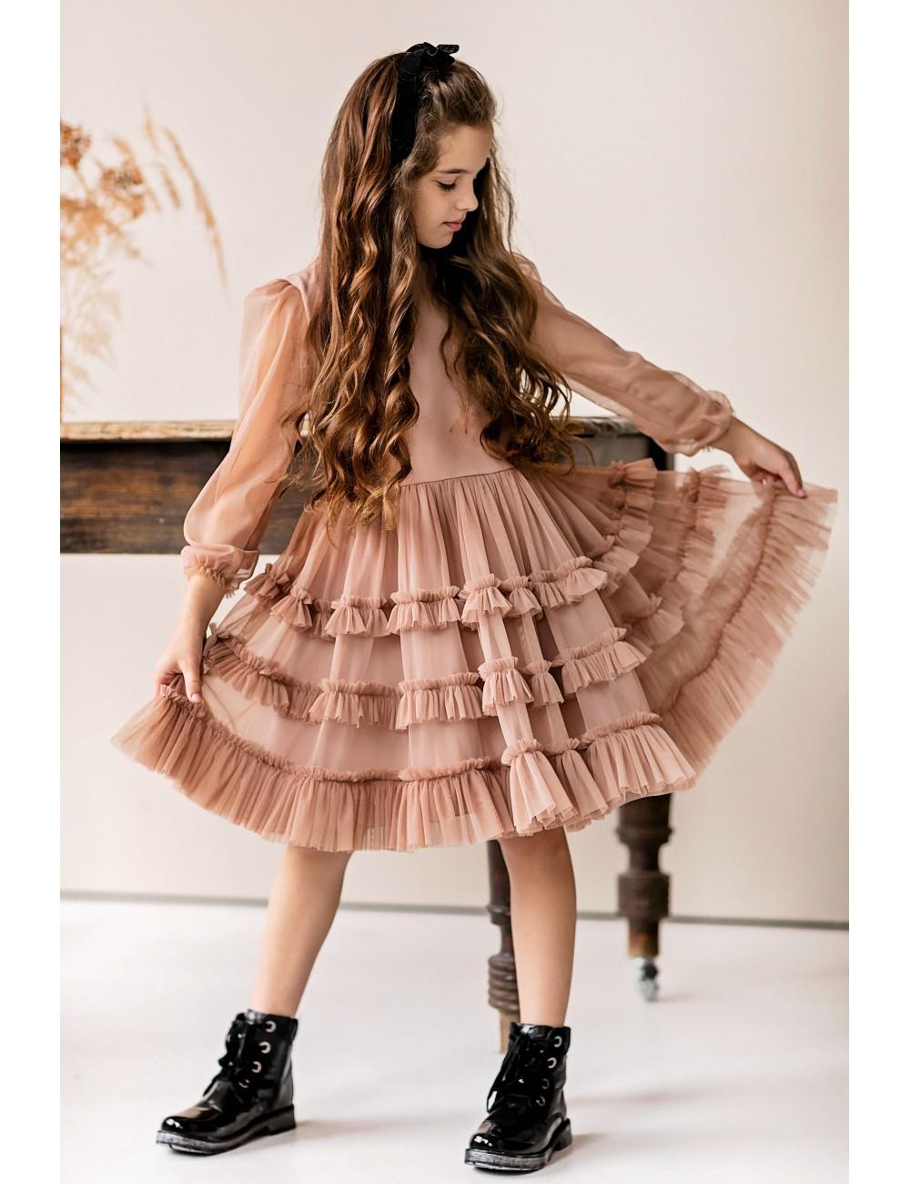 "MINIMI suknelė ""Cinnamon"""